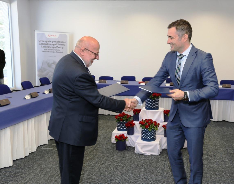 Pracownicy Veolii w Poznaniu będą mieli nowy ZUZP