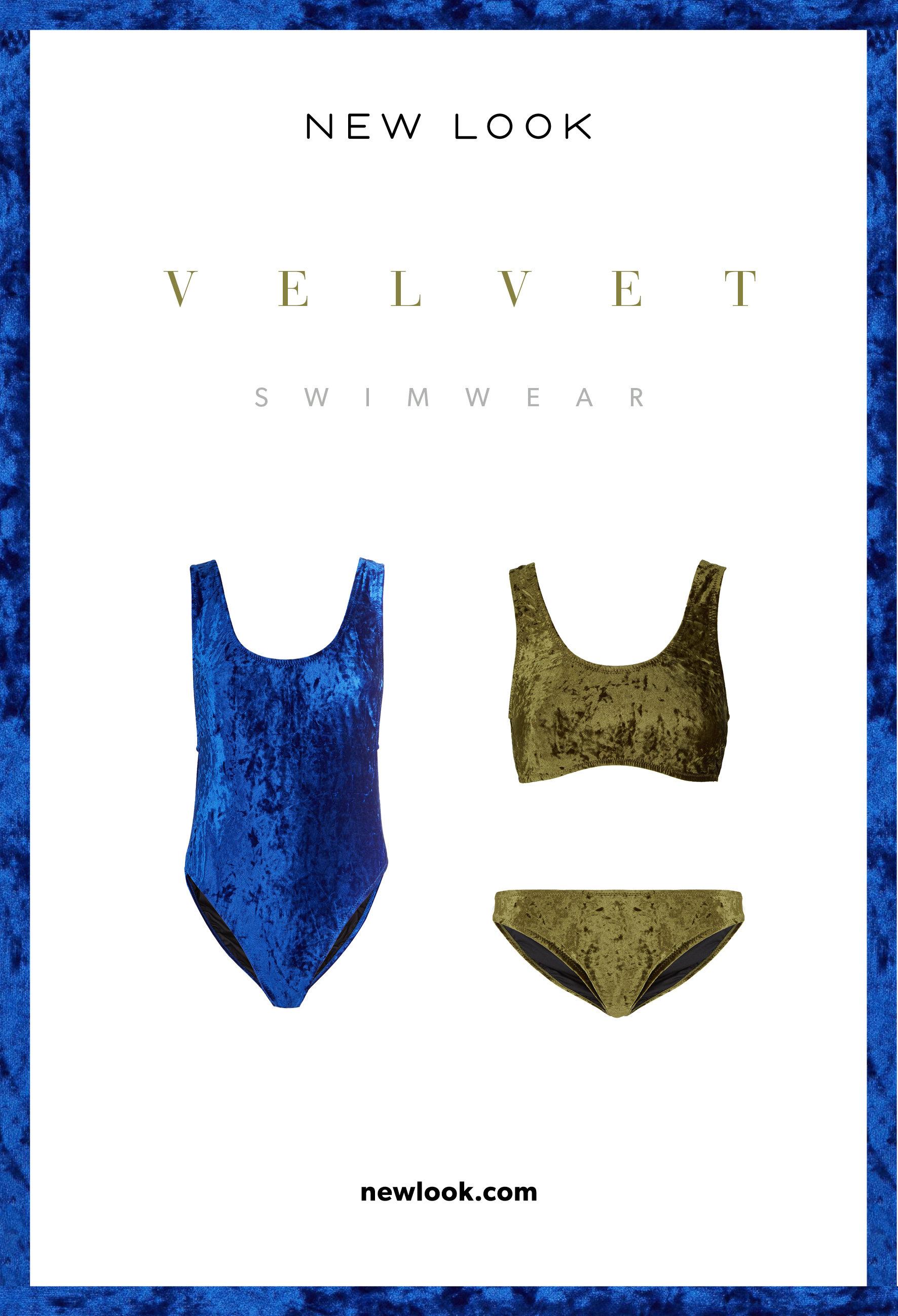 Trendy SS18 w New Look: bikini z aksamitu