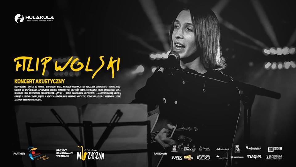 Filip Wolski na Letniej Scenie Muzycznej Hulakula