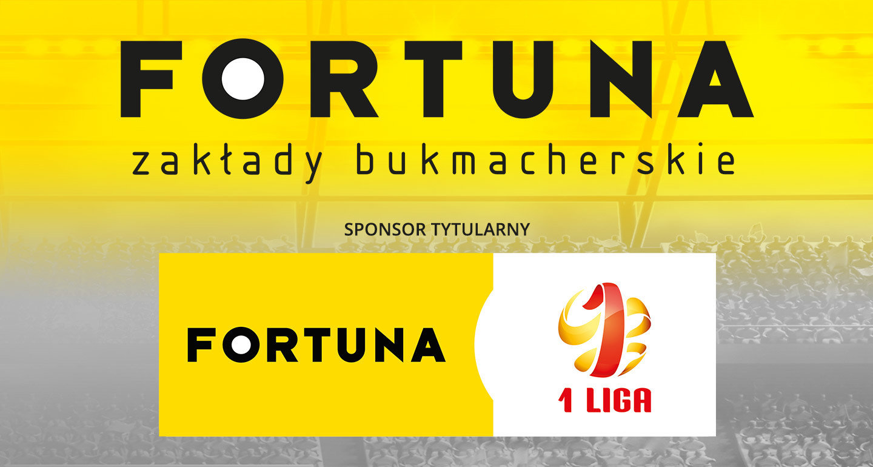 Fortuna sponsorem tytularnym 1 Ligi