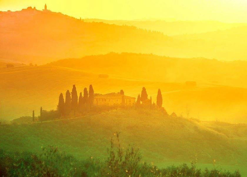 Toskania - enklawa ukryta wśród winnic