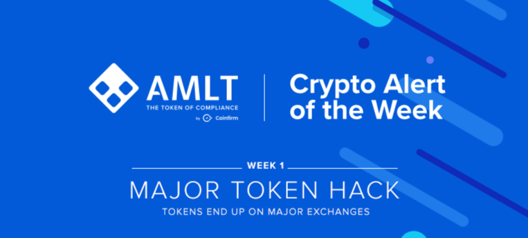 AMLT Crypto Alert of the Week - Series Launch