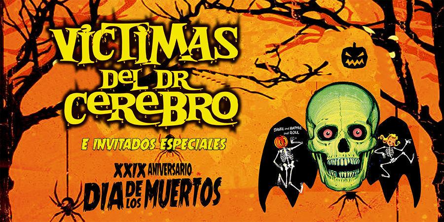 Víctimas del Dr. Cerebro celebrarán 29 Aniversario en El Plaza Condesa