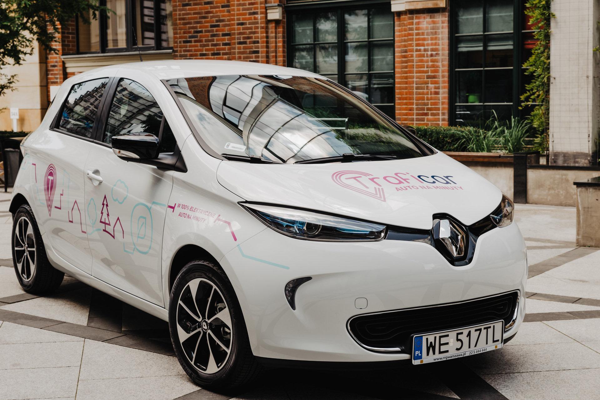 W 100% elektryczne Renault ZOE w projekcie specjalnym Traficara i Renault