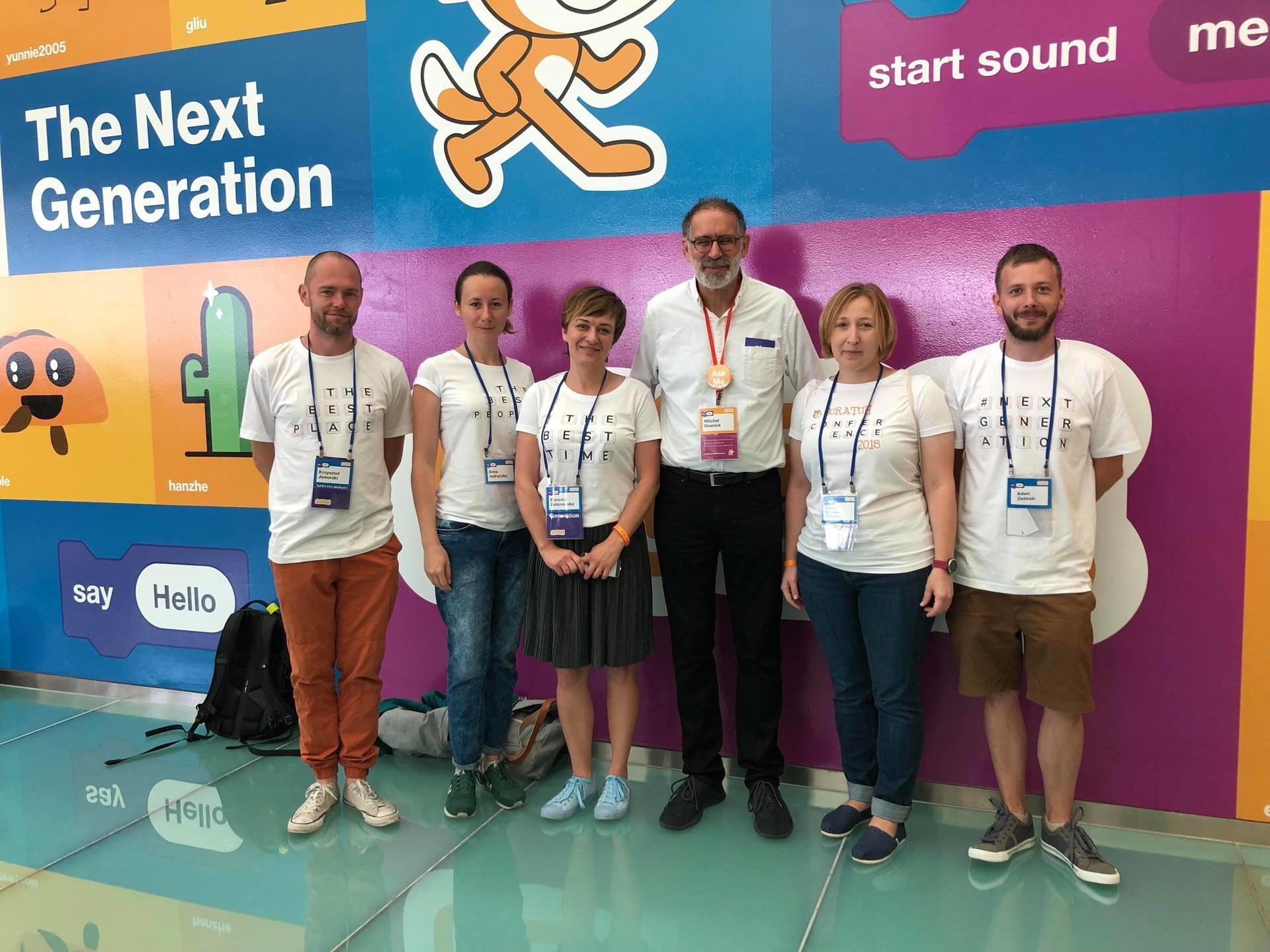 Konferencja Scratch: The Next Generation