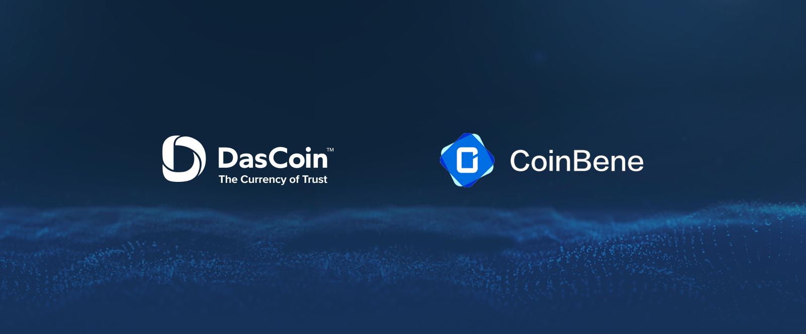 DasCoin już wkrótce na CoinBene