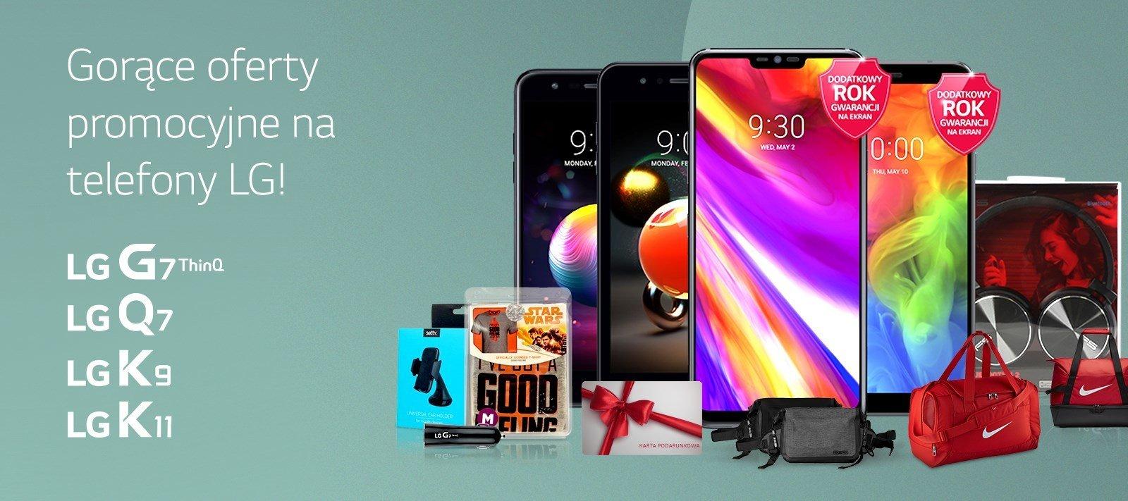 LG wystartowało z gorącymi promocjami najnowszych smartfonów