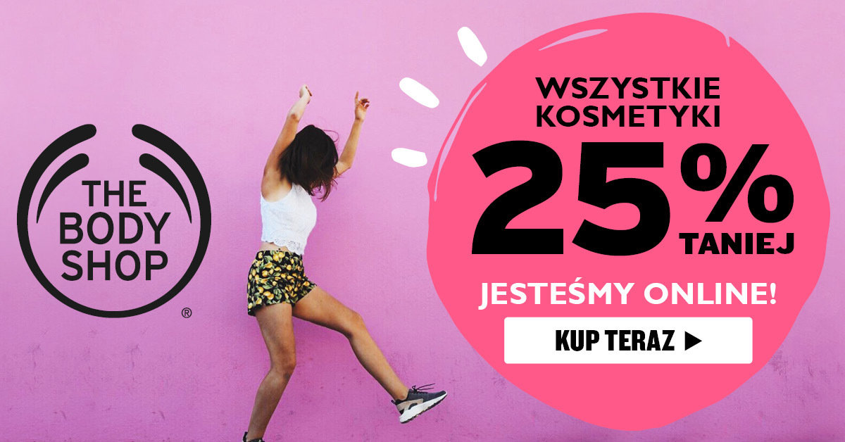Kosmetyki The Body Shop już online – www.thebodyshop.pl!