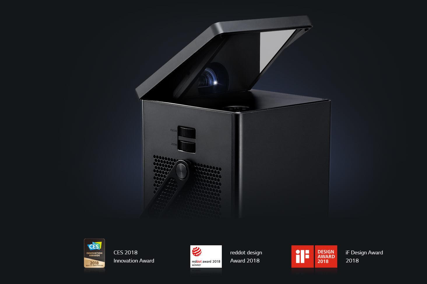 150 cali oszałamiającej rozdzielczości 4K lub kompaktowa, lekka bryła z akumulatorem i bezprzewodowym obrazem Full HD – oto nowe projektory od LG