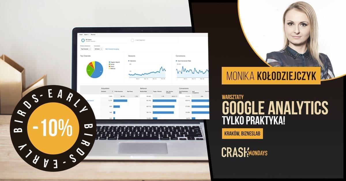 Google Analytics w praktyce z Crash Academy