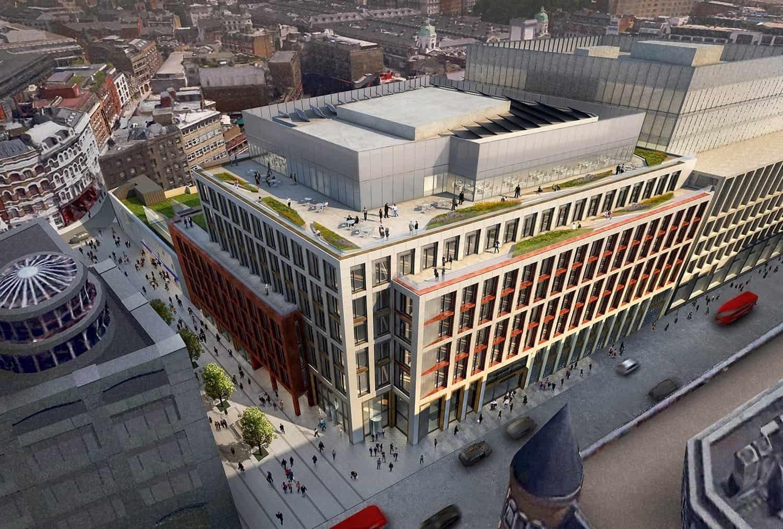 Farringdon West piątym projektem HB Reavis w Londynie – budynek powstanie tuż obok linii kolejowej Crossrail