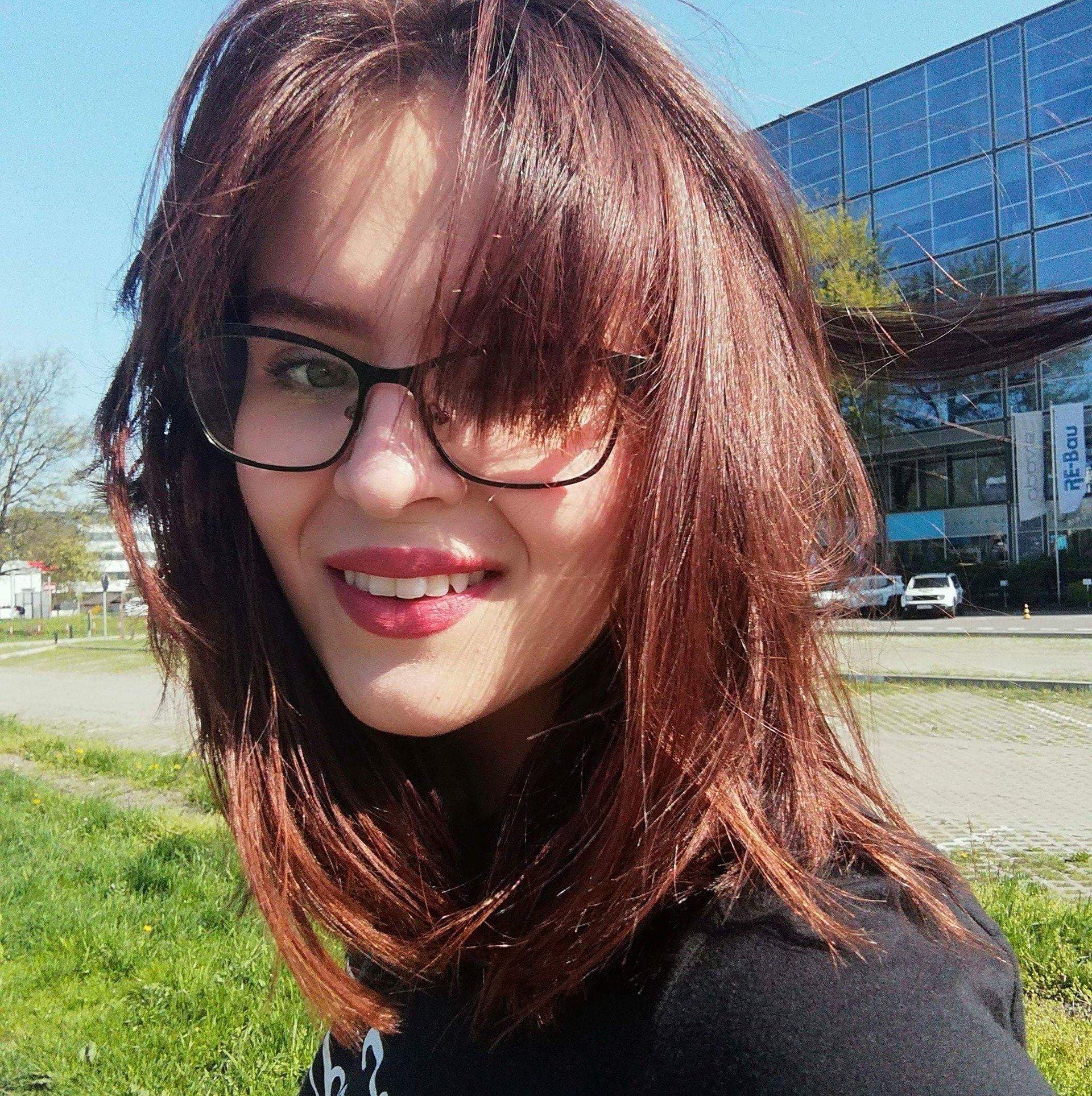 Wolontariuszka Natalia Mazurkiewicz