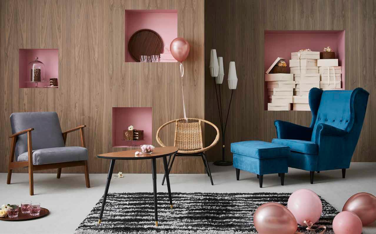 Limitowana kolekcja vintage GRATULERA. Wyjątkowe podziękowanie IKEA za 75 lat wspólnego życia w domu