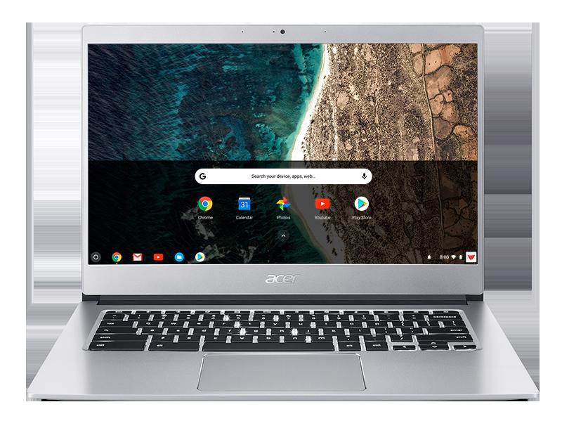 Acer Chromebook 514 z możliwością pracy na baterii nawet do 12 godzin i Corning Gorilla Glass