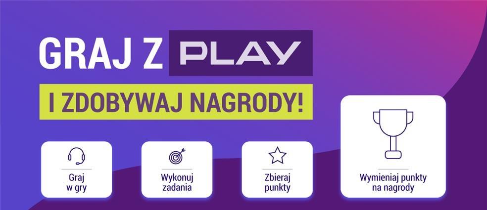 Sieć PLAY wspiera platformę dla graczy i premiuje swoich abonentów!