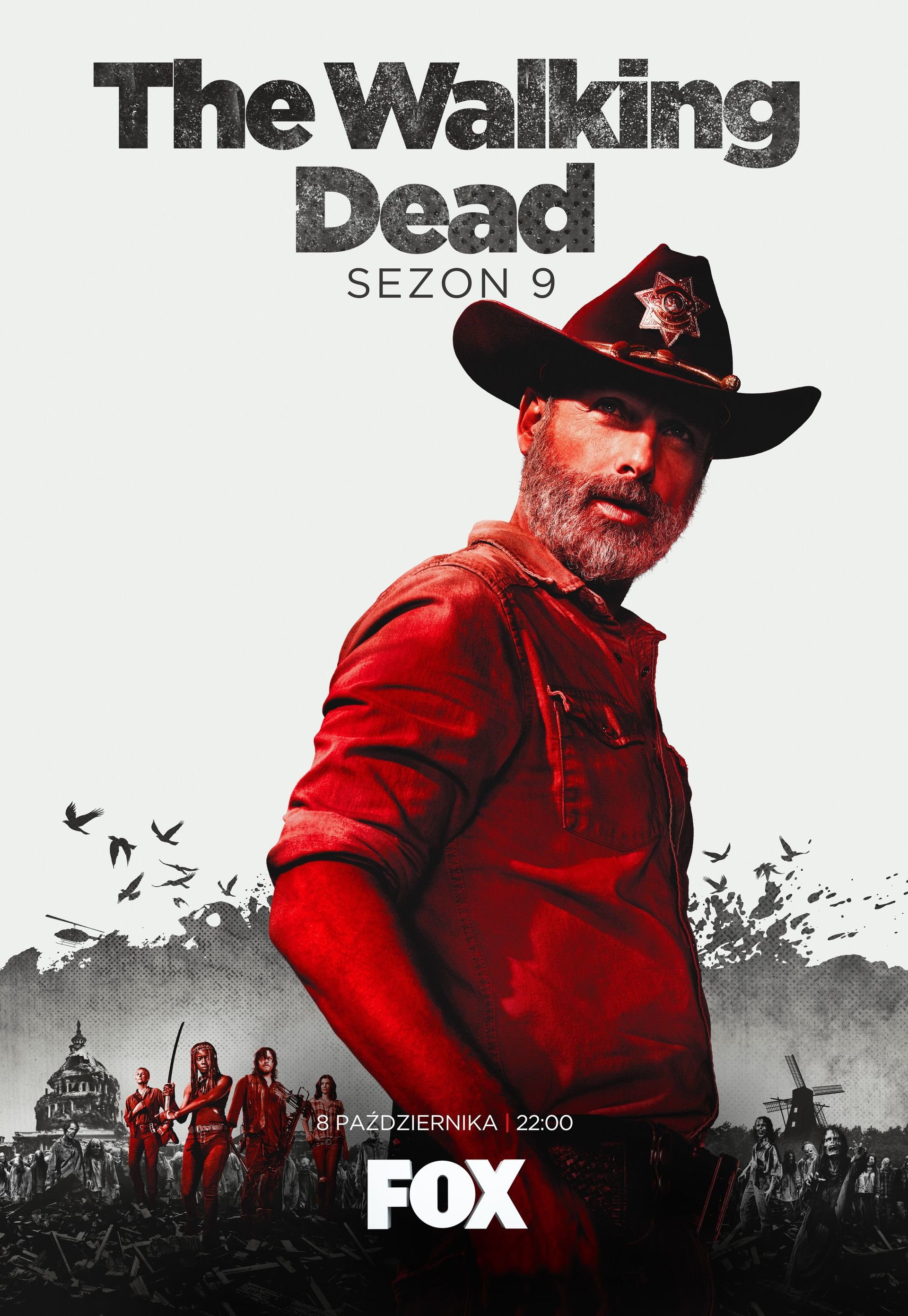 FOX przedstawia oficjalny plakat promujący 9. sezon The Walking Dead!