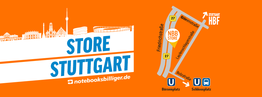 notebooksbilliger.de eröffnet Store in Stuttgart