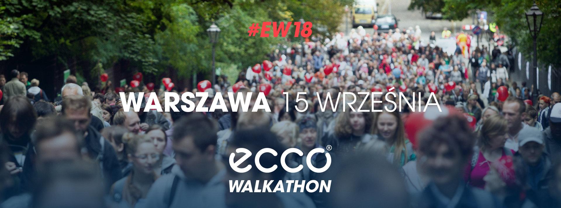Każdy krok to pieniądz - wspieraj Fundację Radia ZET w ECCO Walkathon