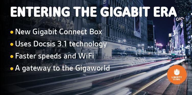 Liberty Global świętuje uruchomienie w Polsce prędkości gigabitowej