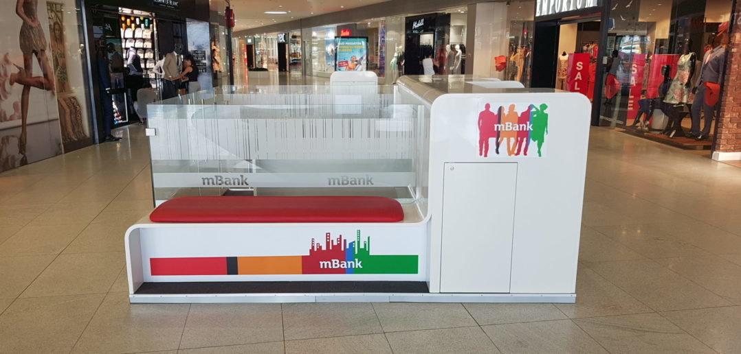 Internetová banka mBank otvára nový kiosk v Bory Mall