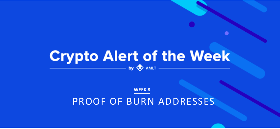 AMLT Crypto Alert of the Week