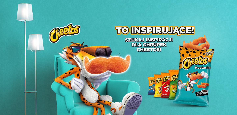 Cheetos Mustache inspiruje