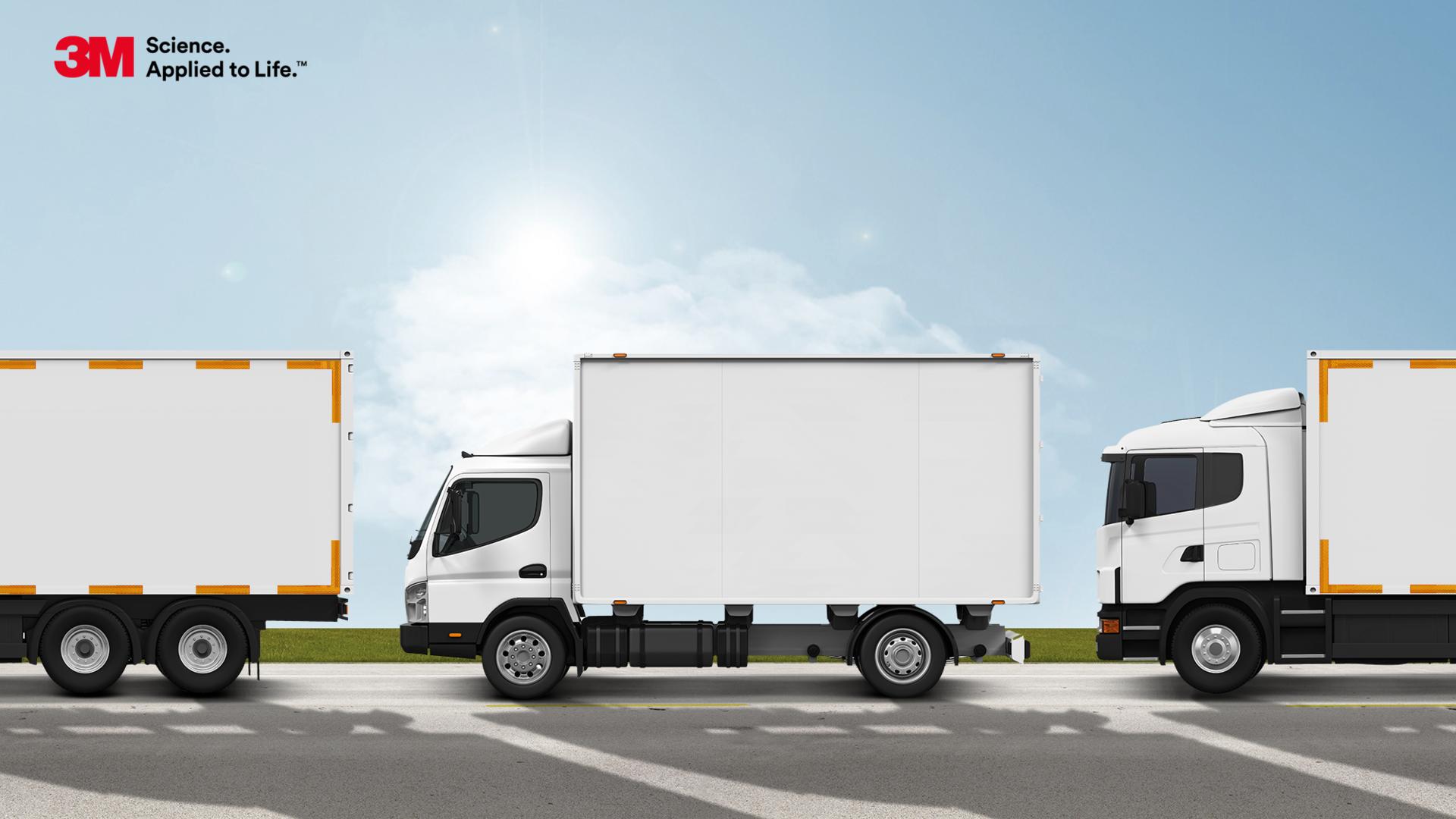 Aż trzy na cztery pojazdy ciężarowe w Polsce nie spełniają norm w zakresie oznakowania odblaskowego stanowiąc potencjalne zagrożenie na drodze – raport 3M