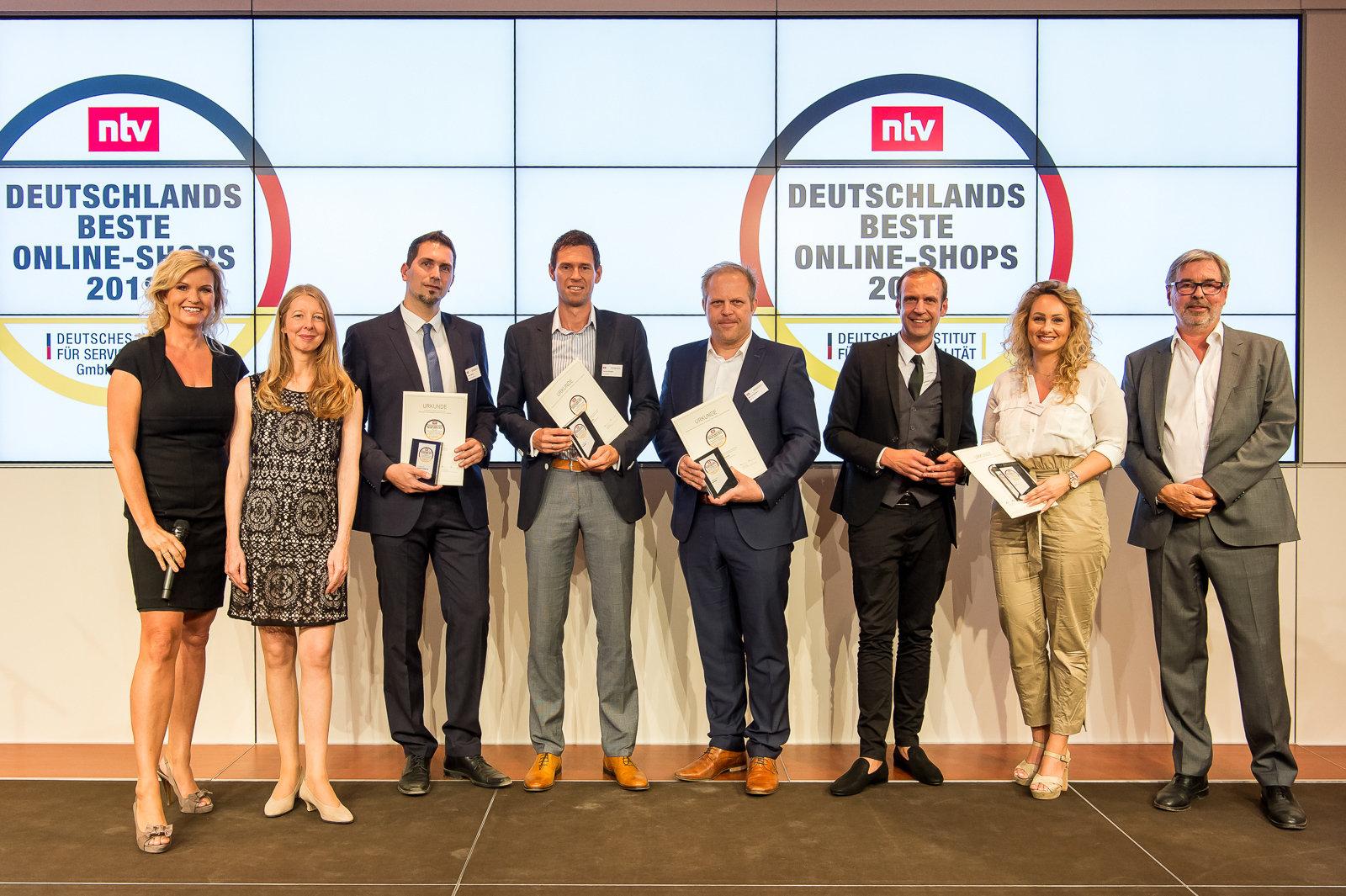 Kunden haben gewählt: notebooksbilliger.de zählt erneut zu den 3 besten Online-Shops