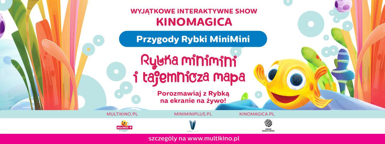 """Innowacyjny projekt """"KinoMagica"""" już w kinach - ucz się, baw i przeżywaj niesamowite przygody z Rybką MiniMini!"""