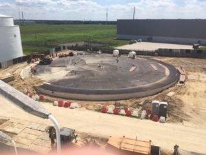 Spółka PERN buduje nowe zbiorniki w Bazie Paliw w Koluszkach – zobacz fotorelację