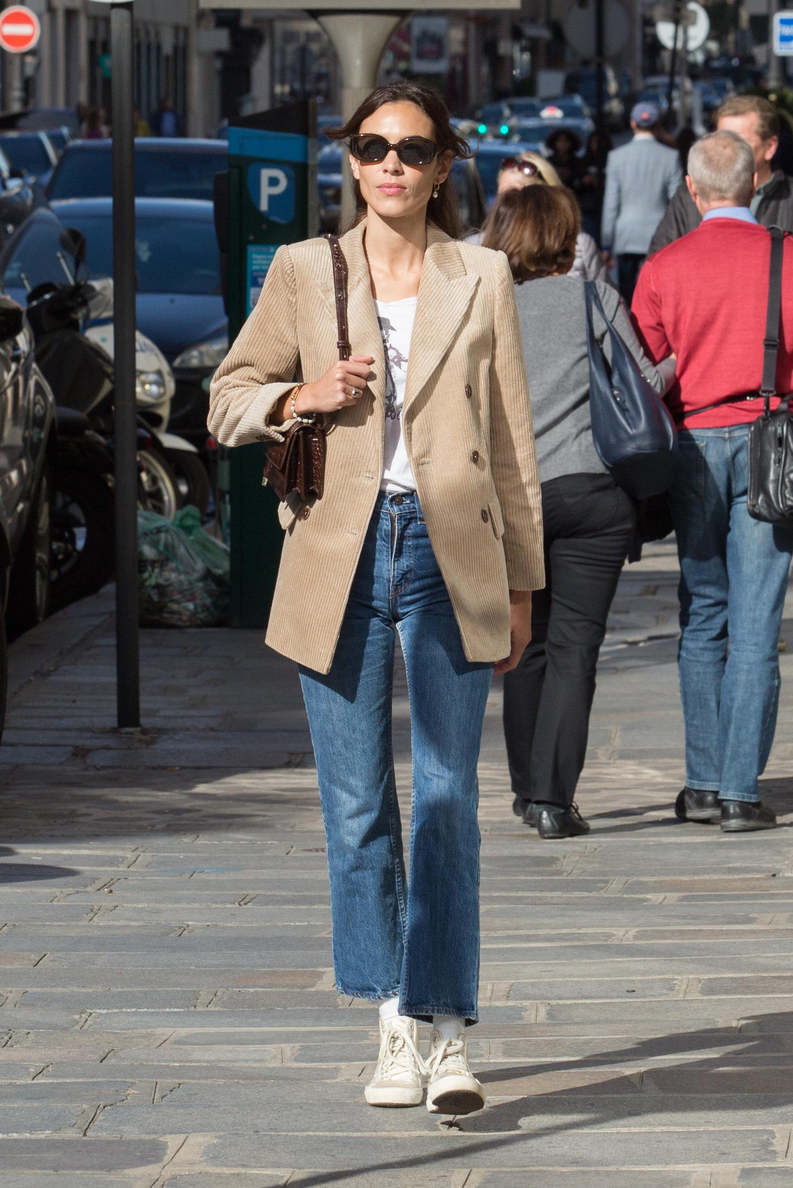 SPOTTED Paris Fashion Week: Alexa Chung w marynarce Mango!