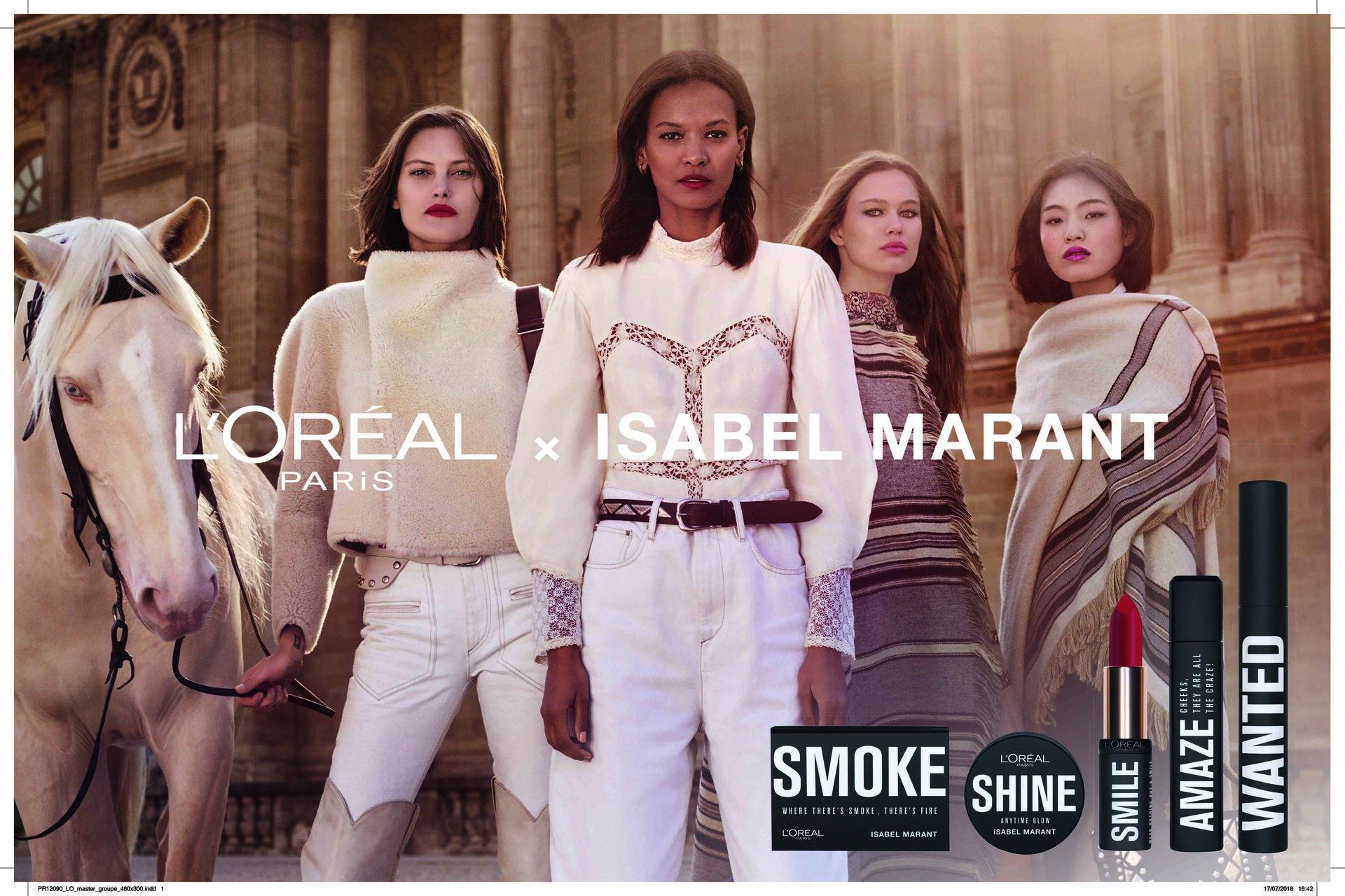 Colaboração exclusiva L'Oréal Paris com Isabel Marant