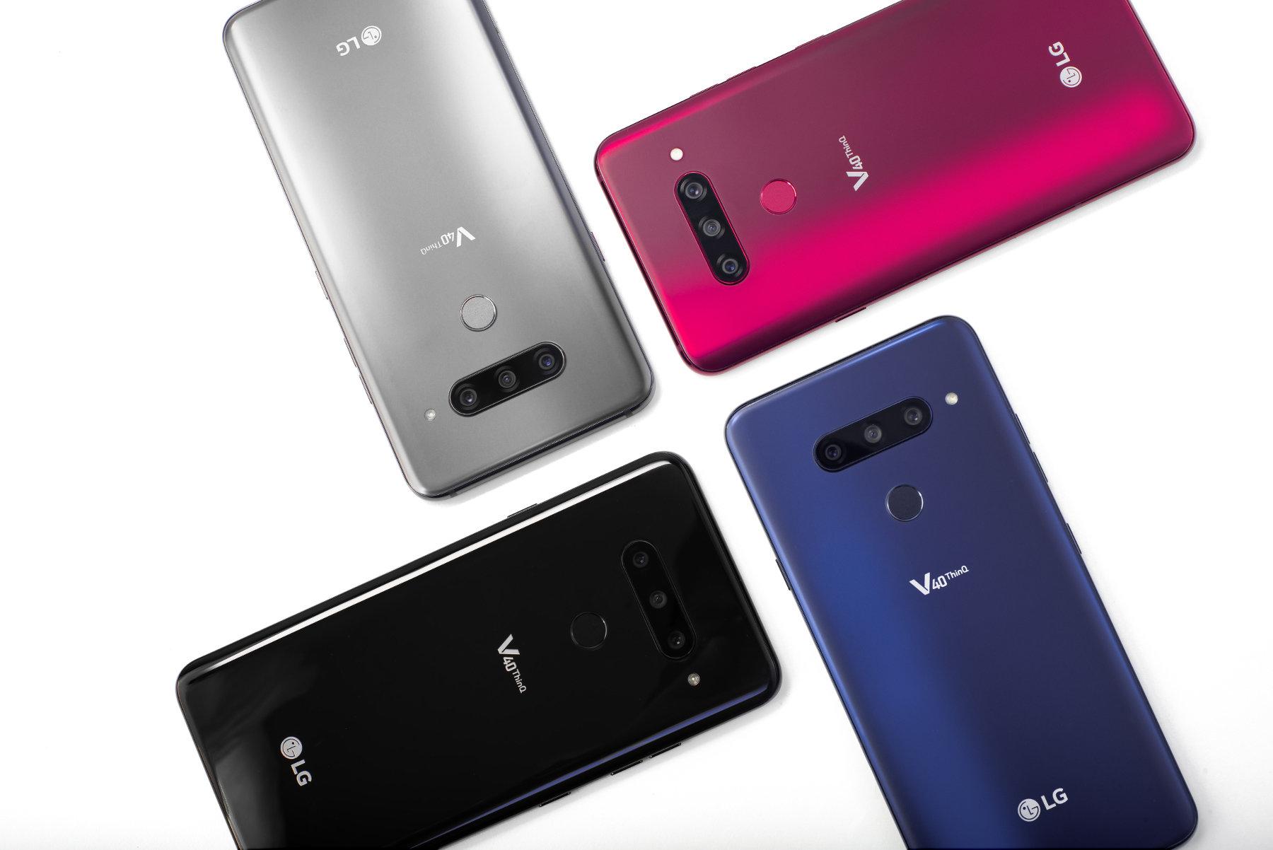 LG prezentuje LG V40 ThinQ, smartfon o najwyższych możliwościach z pięcioma aparatami
