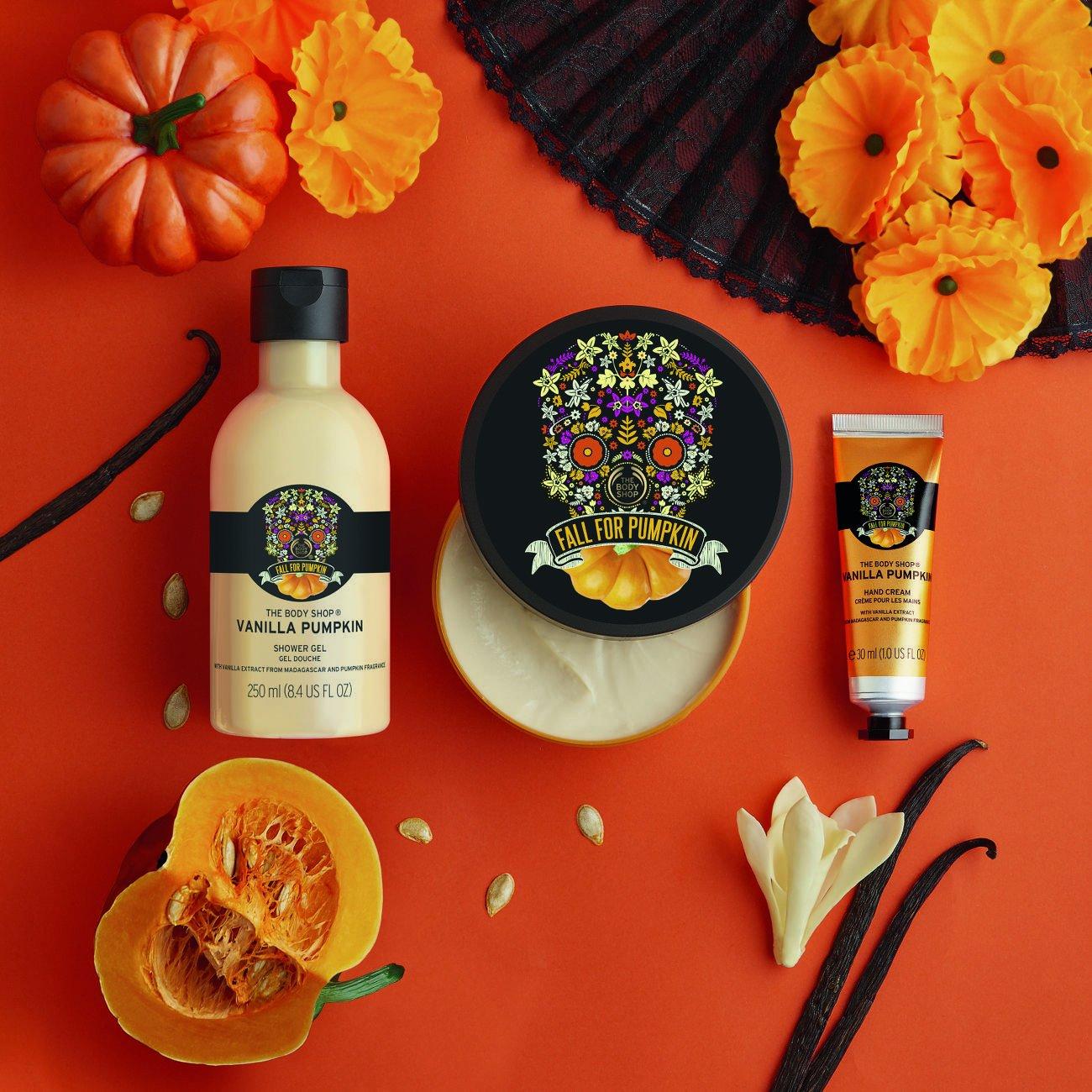 Jesienne odprężenie z kolekcją Vanilla Pumpkin od The Body Shop