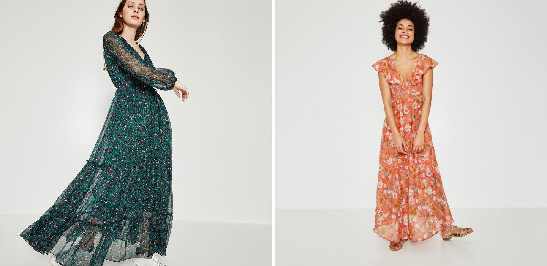 Promod proponuje maxi sukienki na każdą okazję.