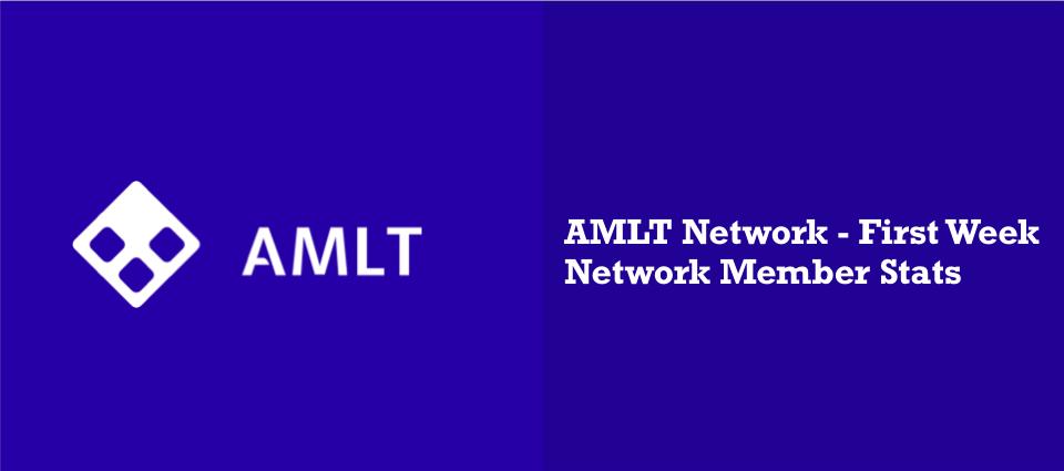 AMLT Network - First Week Network Member Stats