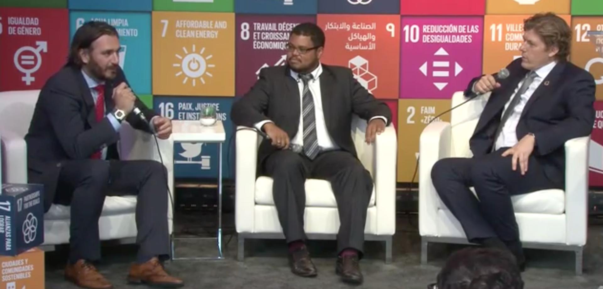 Michael Mathias podkreśla rolę Das33 we wspieraniu Celów Zrównoważonego Rozwoju ONZ