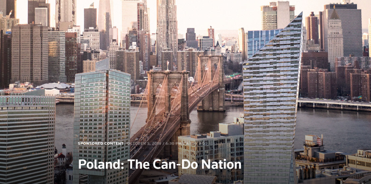 MCI Capital at Polish Business Days in New York - #PolandCanDoNation conference