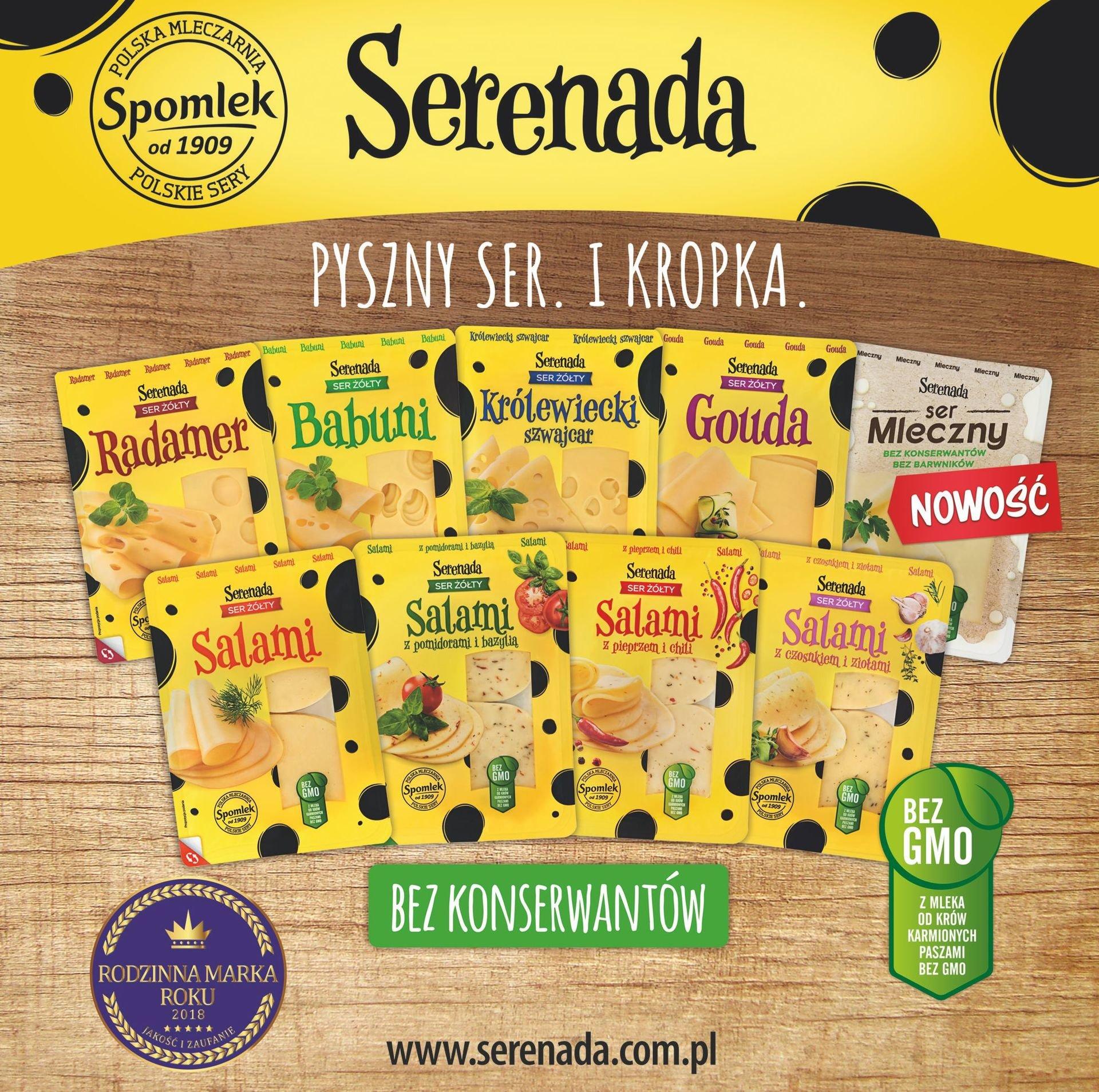 Pyszny ser i kropka - nowa kampania promocyjna Serenady