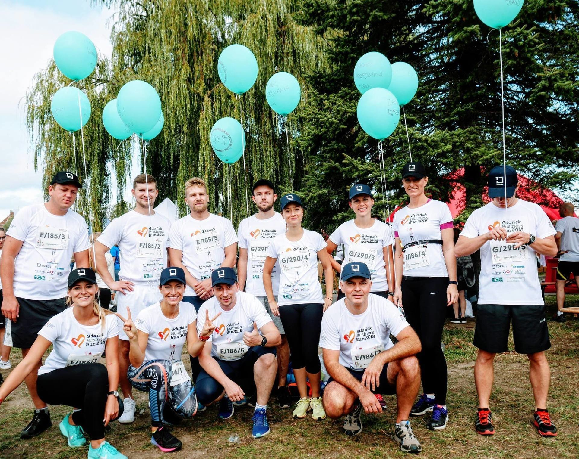 TORUS SQUADS return to Gdańsk Business Run 2018