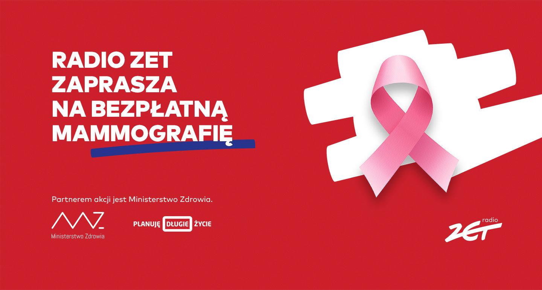 Radio ZET zachęca do profilaktyki raka piersi