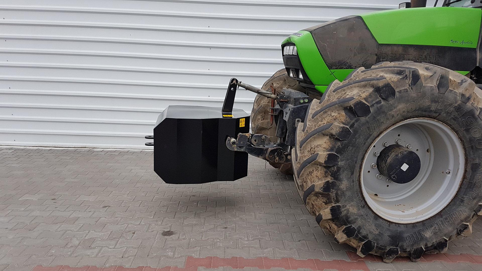 Certyfikowany obciążnik do traktora
