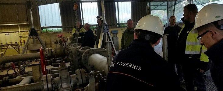Grupa PERN wykonała przegląd infrastruktury rurociągowej NATO