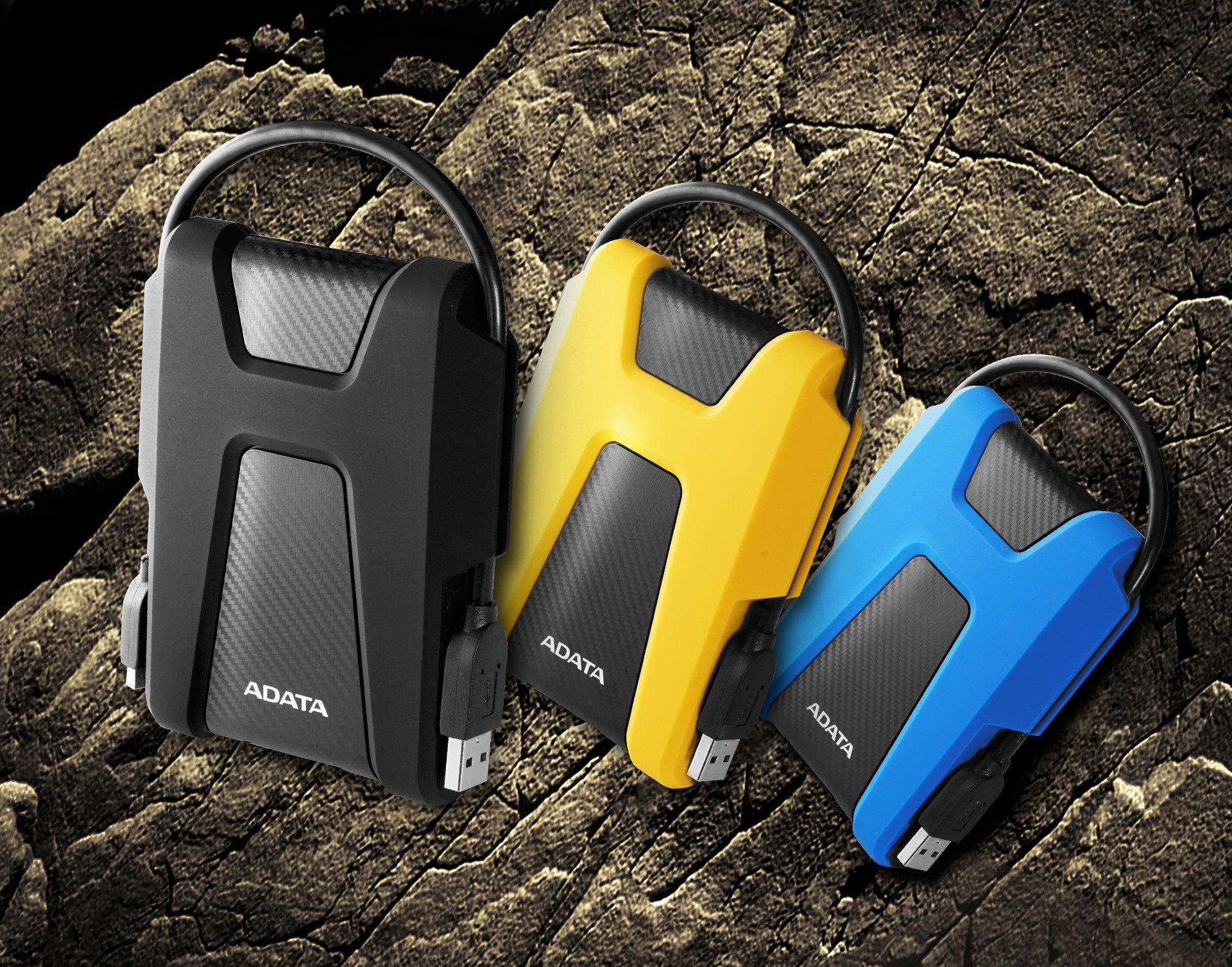 ADATA HD680 i HV320 – bezpieczne i stylowe przenoszenie danych