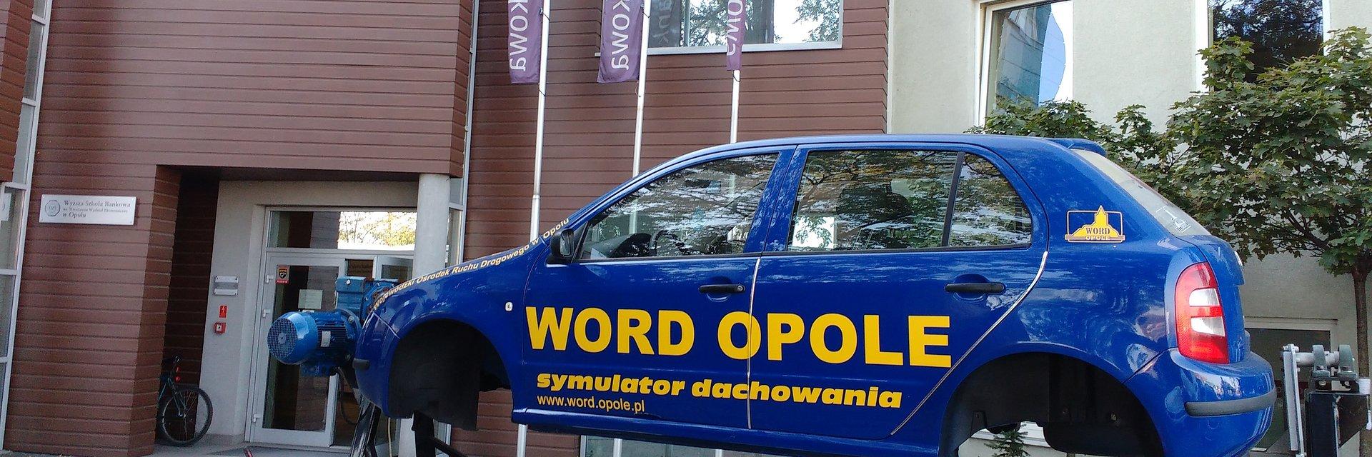 Bezpieczeństwo młodych kierowców – praktyczny wykład w WSB w Opolu