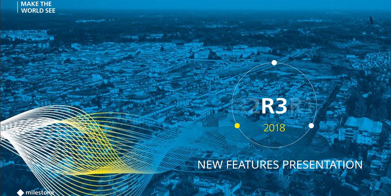 Milestone Systems stellt Software-Update R3 vor