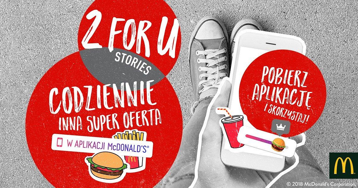 Nowa kampania McDonald's 2 for U dla millenialsów