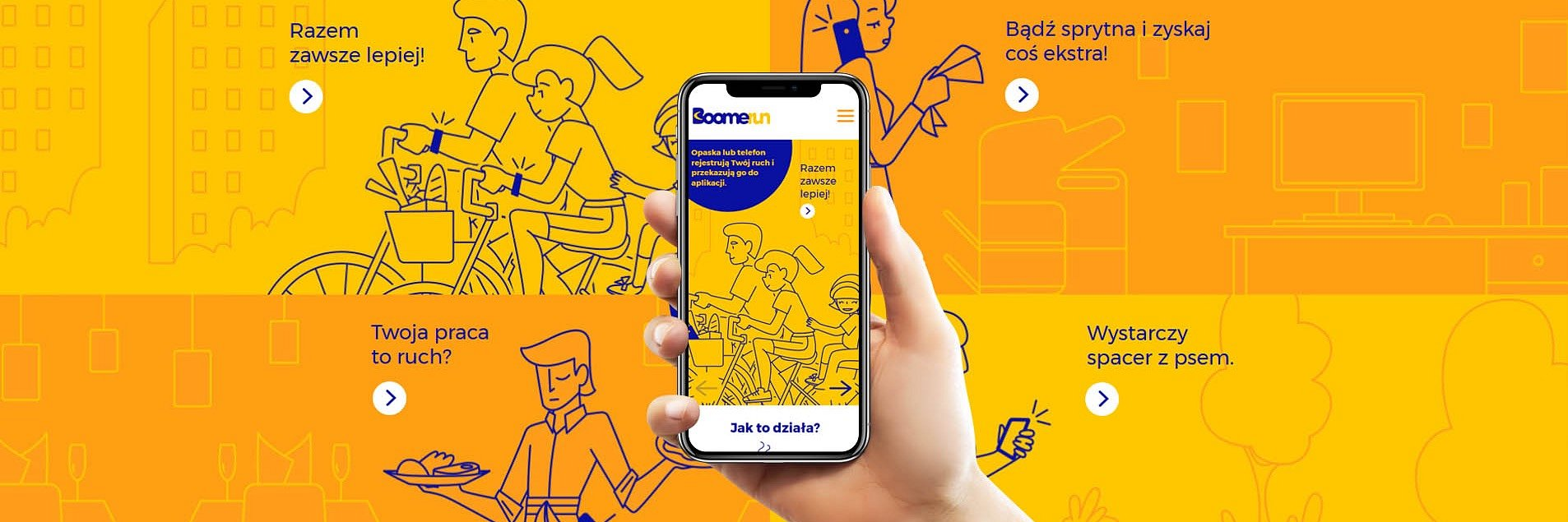 Boomerun startup- mobile app for sporty's
