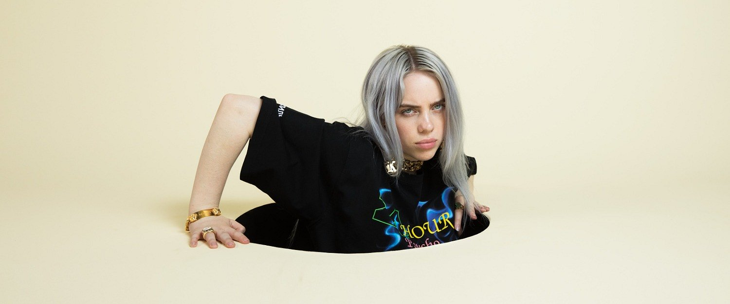 "Billie Eilish z klipem do ""when the party's over"""