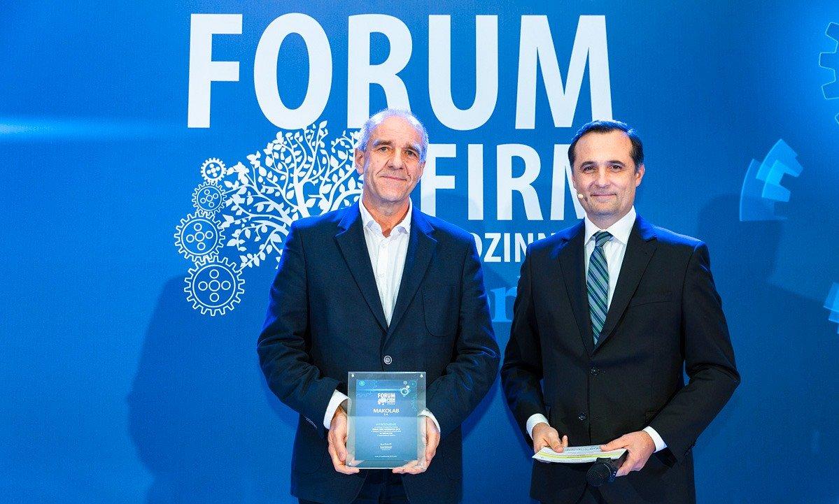 MakoLab laureatem Forum Firm Rodzinnych 2018 magazynu Forbes